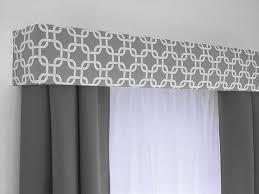 Curtain valence/pelmet